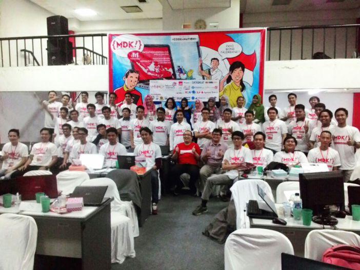 Hackathon Merdeka 2.0 Palembang. Merdeka!