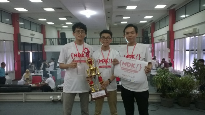 Tim Pempek Kerupuk Juara 2 Hackathon Merdeka 2.0 Palembang